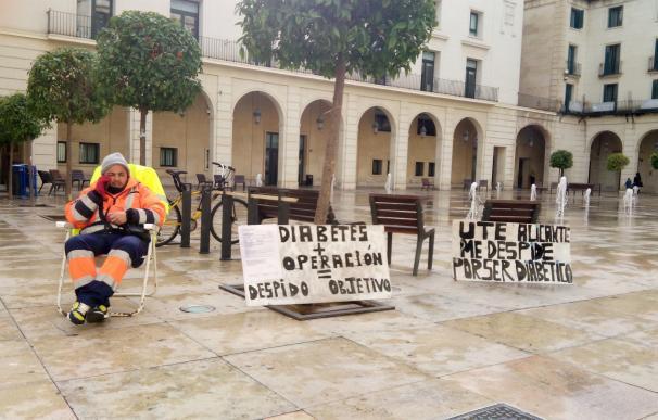 UTE Alicante reincorpora a uno de los dos trabajadores despedidos por coger una baja médica