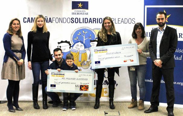 Iberostar entrega 5.000 euros de su fondo solidario de empleados a las entidades 'Educaclown' y 'Ángel García'