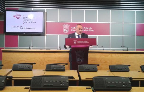 El diputado general de Álava denunciará en el Parlamento Europeo la posible reapertura de Garoña
