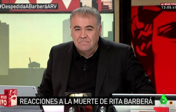 Ferreras adelanta 'Al Rojo Vivo' y La Sexta tendrá casi 12 horas de directo ininterrumpido