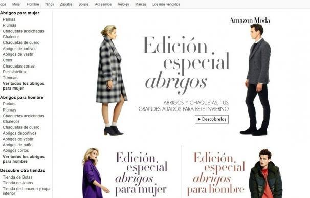 Amazon vendió más de 60 millones de artículos de moda en Europa durante el cuarto trimestre de 2016