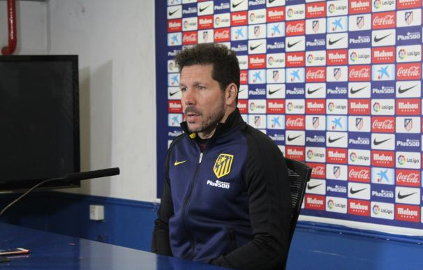 """Simeone: """"No tengo una información oficial de lo que ha pasado con Lucas Hernández"""""""