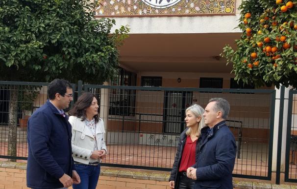 PP-A reclama en el Parlamento mejoras para un colegio público y un instituto de Villanueva del Ariscal