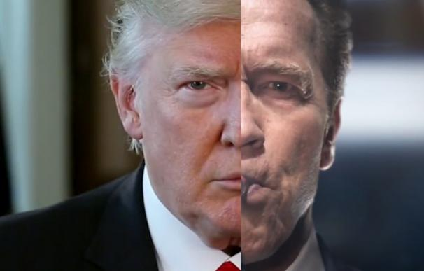 """Schwarzenegger a Trump: """"Cambiémonos los trabajos"""""""