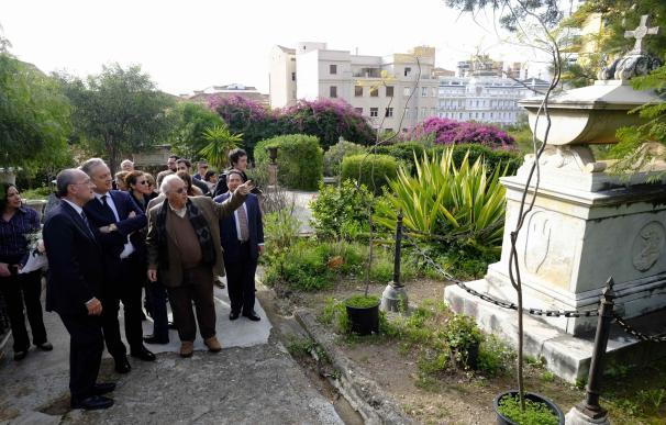 El Ayuntamiento de Málaga mejorará los muros y taludes del Cementerio Inglés con una inversión de 100.000 euros