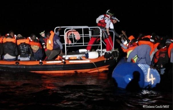 Rescatados más de 1.500 migrantes en el Mediterráneo en 24 horas