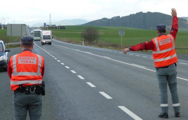 La Estrategia Navarra de Seguridad Vial prevé realizar este año 34 campañas especiales de control del tráfico