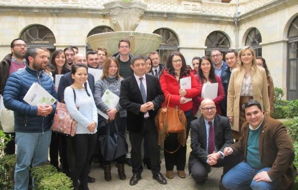 Diputación aporta 182.000 euros a 34 empresas creadas por titulados universitarios