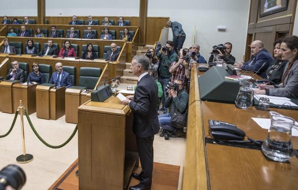 """Urkullu afirma que la posición del Gobierno vasco es de """"tolerancia cero"""" ante los casos de abusos en la Iglesia"""