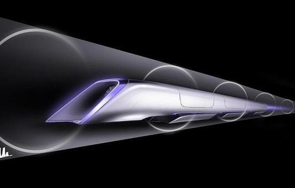 El tren supersónico Hyperloop