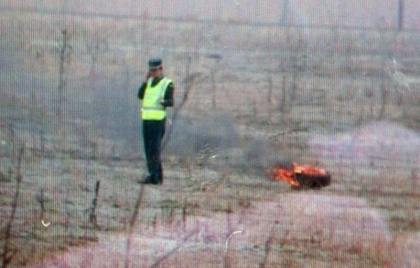 Fallece al menos una persona al estrellarse un avión caza junto al campus de Alcalá de Henares