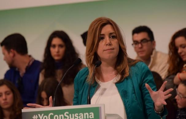 Susana Díaz prevé anunciar el 11 de marzo su candidatura a las primarias del PSOE