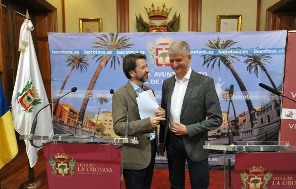 El Cabildo de Tenerife invertirá más de 4,8 millones de euros en La Orotava