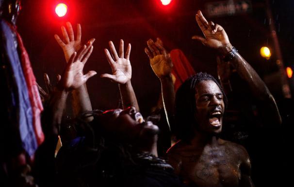 Protestas en las calles de Ferguson, Misuri, tras la muerte de Michael Brown a manos de un policía
