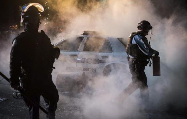 Protestas, el pasado verano, tras la muerte del joven en Ferguson (EEUU).