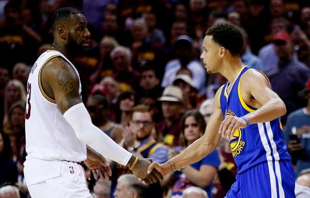 LeBron busca la revancha ante Curry en otro duelo de reyes en las finales de la NBA