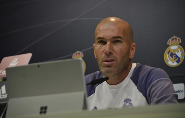 """Zidane confirma la titularidad de Morata ante el Espanyol y quiere que siga """"en su casa"""""""
