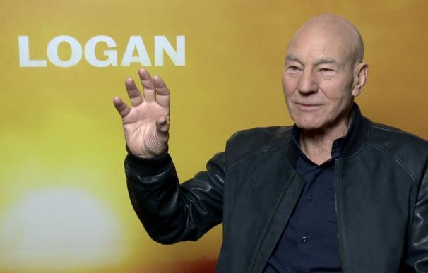 """Sir Patrick Stewart: """"Logan es la película de X-Men con un mensaje político más fuerte"""""""