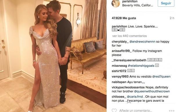Paris Hilton y el actor Chris Zylka, nueva pareja