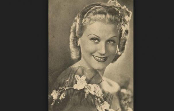 La estrella de cine nazi Marika Rökk era una espía rusa que formaba parte de la red Krona