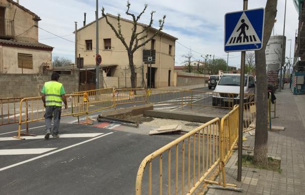 El Ayuntamiento de Barbastro invierte más de 35.000 euros en la mejora de viales