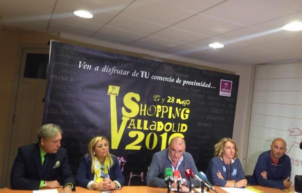Más de 200 comercios participarán en 'Shopping Valladolid' los días 27 y 28, en la que se venderán productos en la calle