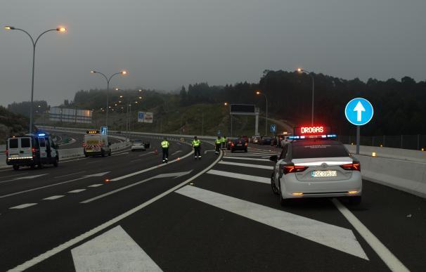La Guardia Civil sanciona a 5 conductores en 9 pruebas realizadas para detectar consumo de droga en Gijón