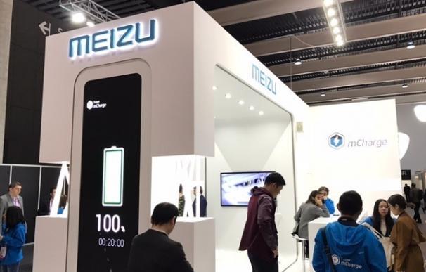 Meizu presenta un sistema que carga la batería del móvil por completo en solo 20 minutos