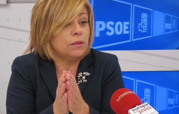 """Valenciano reconoce que el PSOE tendrá la plantilla que """"pueda pagar"""""""