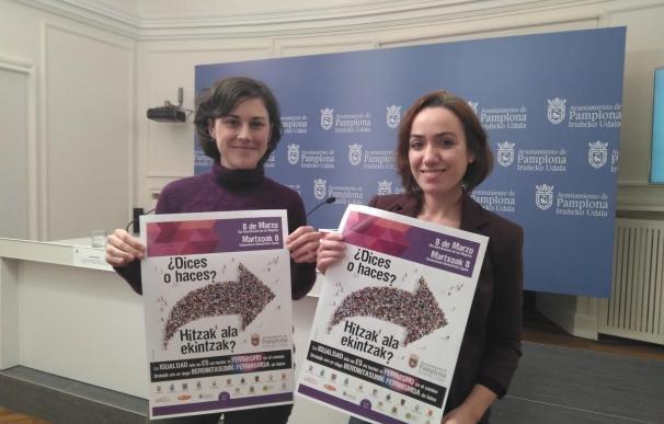 Teatro, conferencias, mesas redondas y la lectura de un manifiesto, en el programa del Día de la Mujer de Pamplona