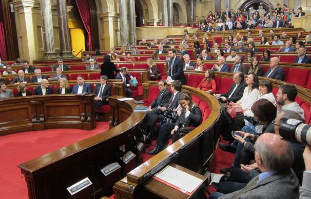 El Parlament estudia convocar el 16 de marzo el pleno de aprobación de los Presupuestos