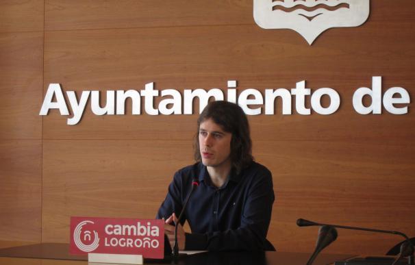 Cambia Logroño ve trato de favor al parking de Gran Vía en actuaciones del multacar en calles céntricas