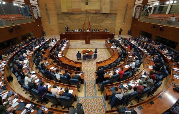 PSOE y Podemos bloquean la tramitación por lectura única del voto telemático en la Asamblea de Madrid