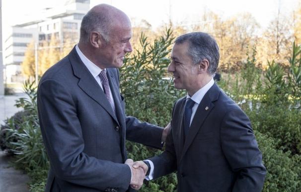 Urkullu participará el lunes en la reunión que la asamblea de la Eurorregión Aquitania/Euskadi/Navarra tendrá en Burdeos