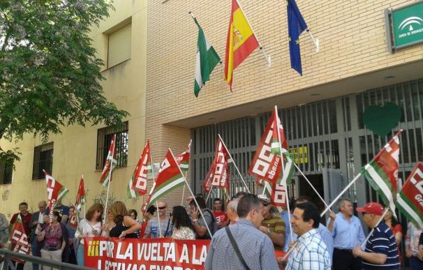 CCOO convoca este miércoles concentraciones en todas las provincias por la recuperación de las 18 horas en Secundaria