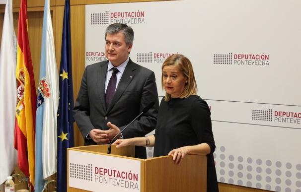 La Diputación de Pontevedra y Abanca impulsan una línea de crédito de 50 millones para financiar a pymes y autónomos