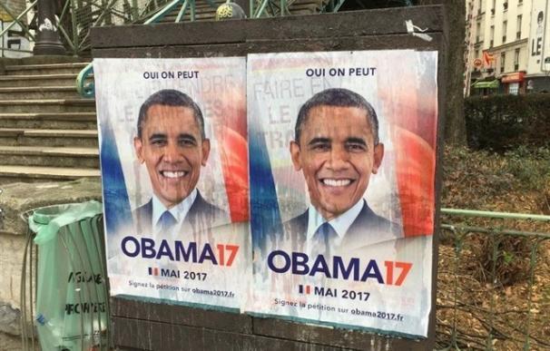 Más de 40.000 firmas para que Obama se presente a las elecciones en Francia