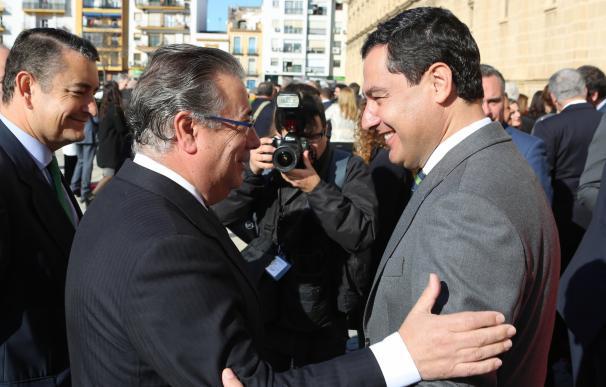 """Moreno se fía más de las urnas que de encuestas y asegura que """"muchos andaluces"""" ven al PP-A """"como única alternativa"""""""
