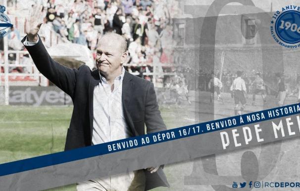Oficial: Pepe Mel nuevo entrenador del Deportivo hasta final de temporada