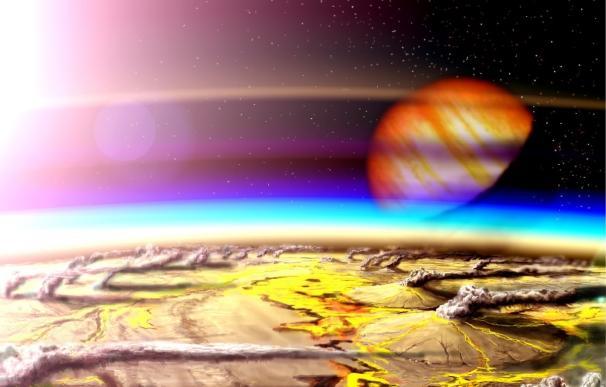 Con volcanes, se amplía un 30-60% la zona habitable en las estrellas