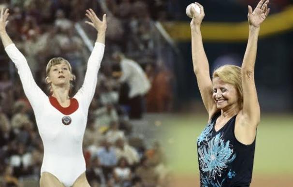 Olga Korbut dominó la gimnasia en 1972 y 1976
