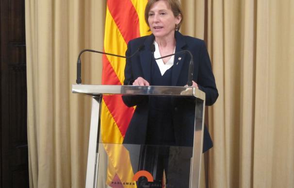 El TSJ de Cataluña admite la querella contra Forcadell y tres miembros de la Mesa del Parlament