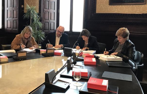 El TSJ de Cataluña notifica a Forcadell y los miembros de la Mesa de JxSí la nueva querella de Fiscalía