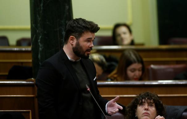 """ERC insistirá en pedir la exhumación de Franco y que el Valle de los Caídos deje de ser """"un mausoleo del fascismo"""""""