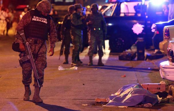 La violencia en México, imparable.