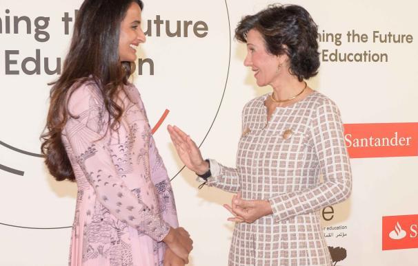 Ana Botín reclama revisar los sistemas educativos para aprovechar las oportunidades de la tecnología