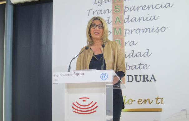 """El PP cree que los datos económicos evidencian una Extremadura en """"colapso"""" un año después de las elecciones"""
