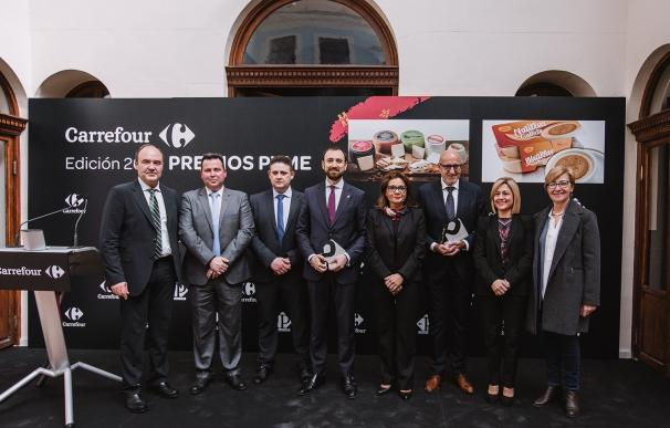 Quesos El Cabecico recibe el premio a la mejor pyme de la Región por parte de los consumidores de Carrefour