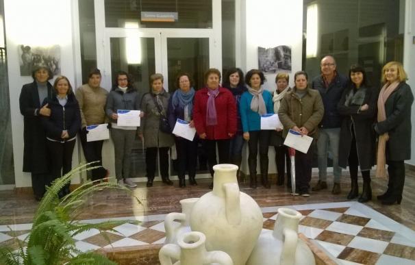 Sorbas acoge un Taller 'Carmen de Burgos' de biodanza con una veintena de mujeres participantes