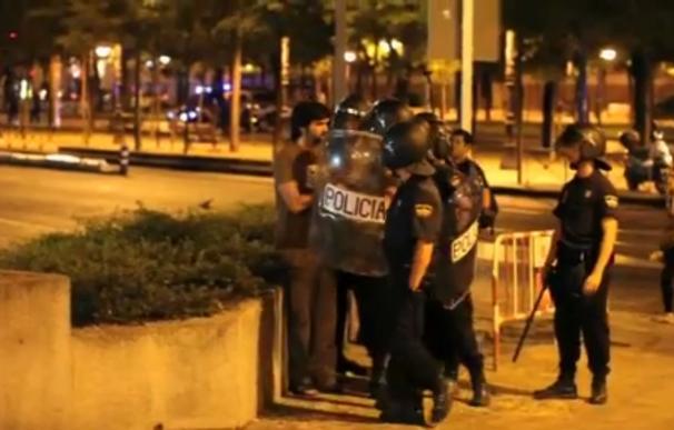 Vídeo: así agredieron siete policías al periodista Gorka Ramos